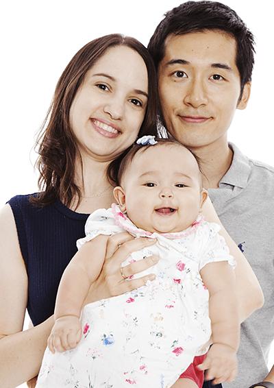 堀口氏 撮影 ご家族写真例
